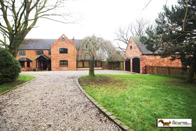 Thumbnail Detached house for sale in Yew Tree Farmhouse, Wootton, Eccleshall