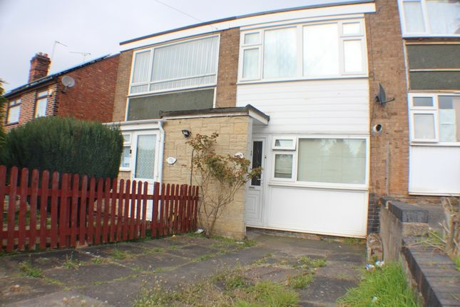 Thumbnail Terraced house to rent in Crown Hills Avenue, Leicester