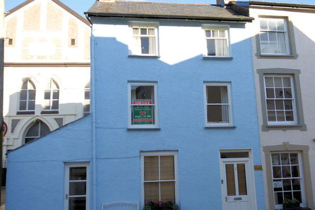 Thumbnail End terrace house for sale in New Street, Aberdovey Gwynedd