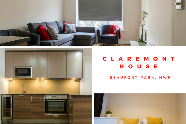 Thumbnail Flat for sale in Claremont House, Aerodrome Road, Colindale, London