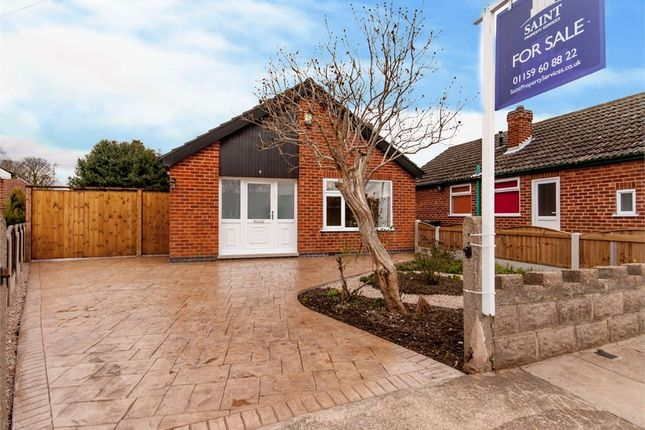 Thumbnail Detached bungalow for sale in Derwent Close, Attenborough, Nottingham