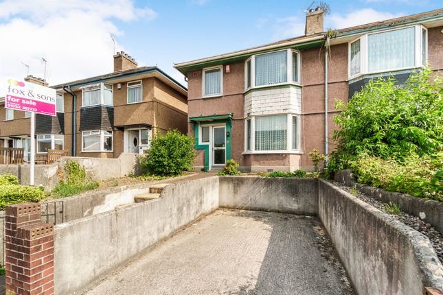 Thumbnail Semi-detached house for sale in Wombwell Crescent, Plymouth