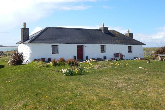 Thumbnail Detached house for sale in Claddach, Kirkibost, Isle Of North Uist
