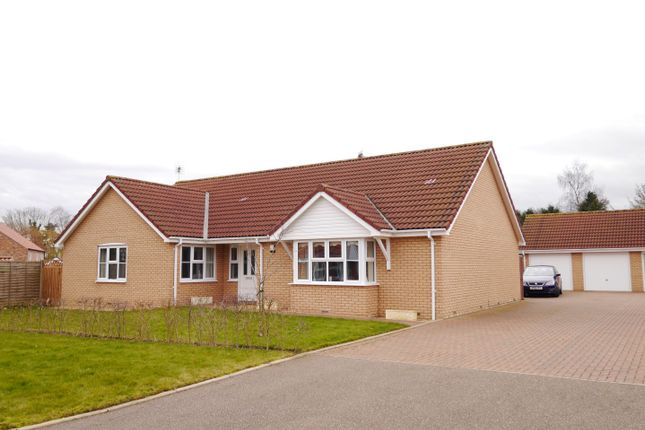 Thumbnail Detached bungalow for sale in Spring Court, Wereham