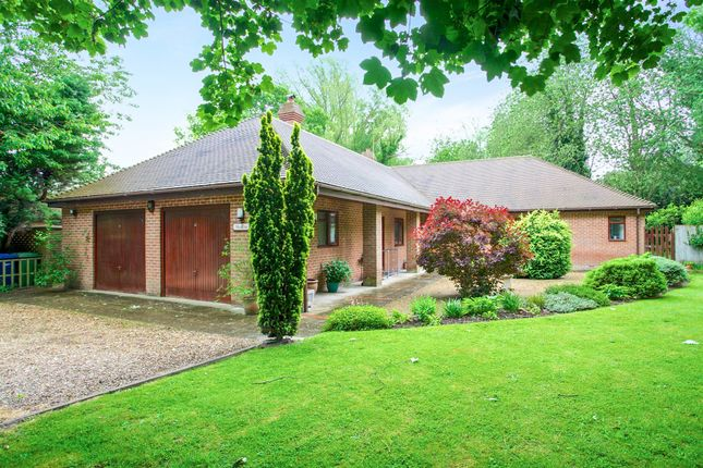Thumbnail Detached bungalow for sale in Cats Lane, Tydd St. Giles, Wisbech