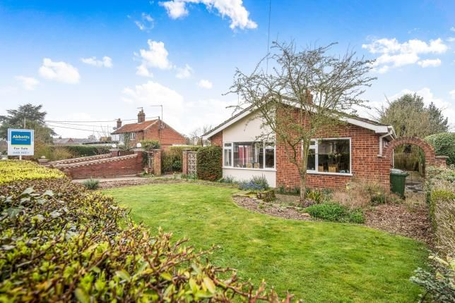 Thumbnail Bungalow for sale in Blofield Heath, Norfolk, .