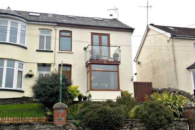 Thumbnail Semi-detached house for sale in Old Ynysybwl Road, Ynysybwl, Pontypridd