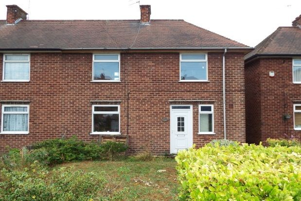 Thumbnail Property to rent in Maltby Road, Mansfield