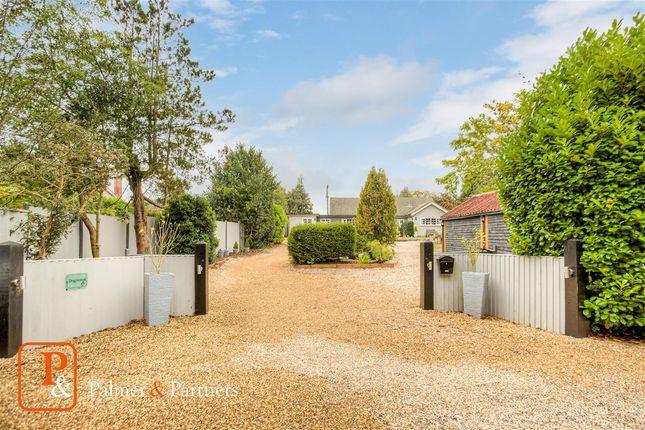 Thumbnail Bungalow for sale in Aldeburgh Road, Aldringham, Leiston, Suffolk