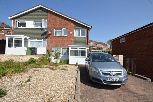 3 bed semi-detached house to rent in Barley Farm Road, Exeter, Devon