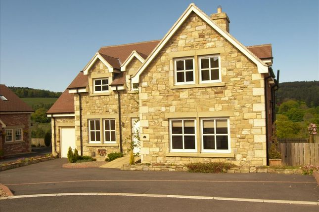 Thumbnail Detached house to rent in Lordenshaw Drive, Rothbury, Morpeth