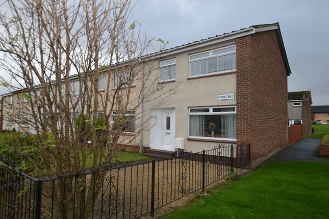 Thumbnail Terraced house for sale in Viking Way, Renfrew
