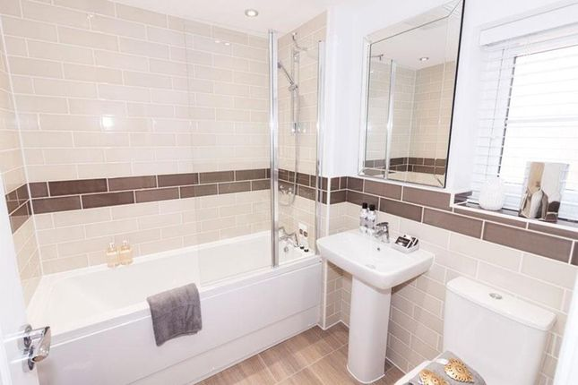 "Bathroom of ""Alnwick"" at ""Alnwick"" At Rykneld Road, Littleover, Derby DE23"