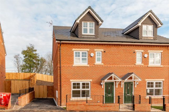 Semi-detached house for sale in Saddlecote Close, Manchester