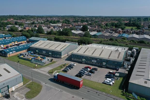 Thumbnail Commercial property for sale in Brymau Two Trading Estate, River Lane, Saltney, Chester