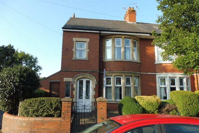 Thumbnail End terrace house for sale in Roath Court Road, Roath, Cardiff