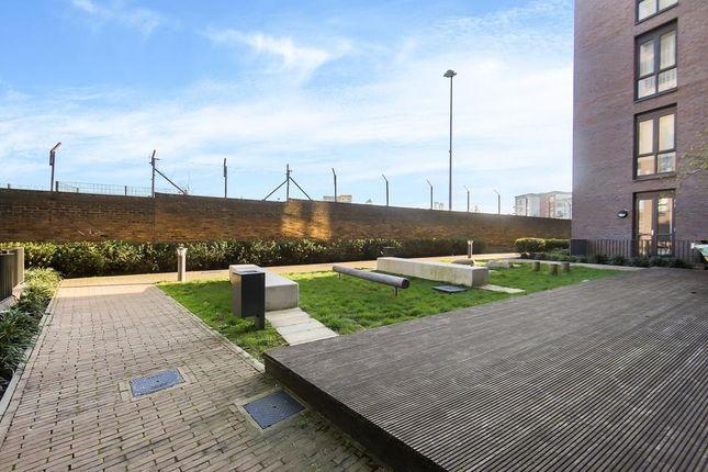 Shared Garden of Sarum Terrace, Bow Common Lane, London E3