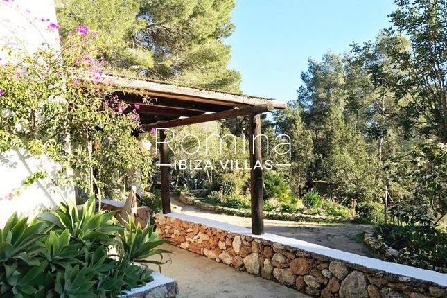 Garden Terrace of Santa Gertrudis De Fruitera, Ibiza, Balearic Islands, Spain
