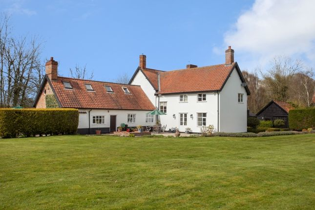 Thumbnail Detached house for sale in The Common, Fritton, Norwich