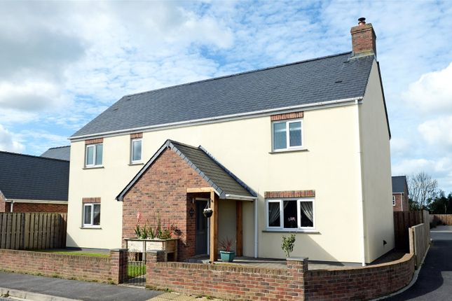 Thumbnail Detached house for sale in Willow Way, Camrose, Haverfordwest