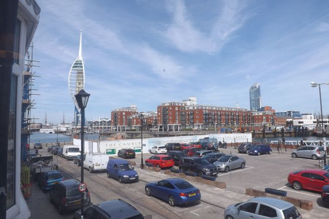 Thumbnail Town house to rent in Broad Street, Portsmouth