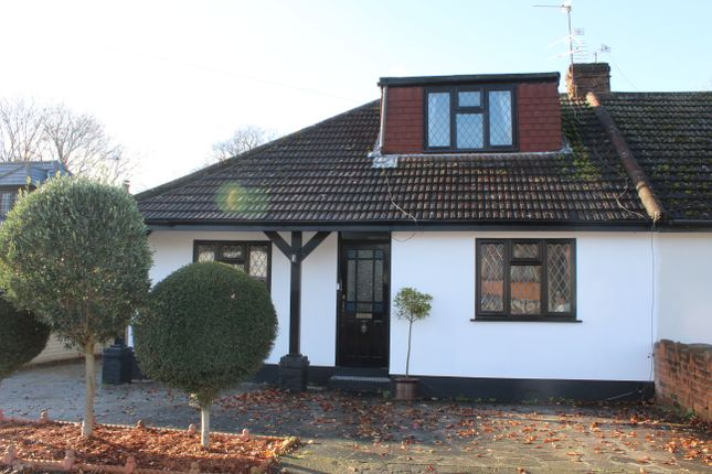 Thumbnail Semi-detached bungalow for sale in Vicarage Road, Hornchurch, Essex