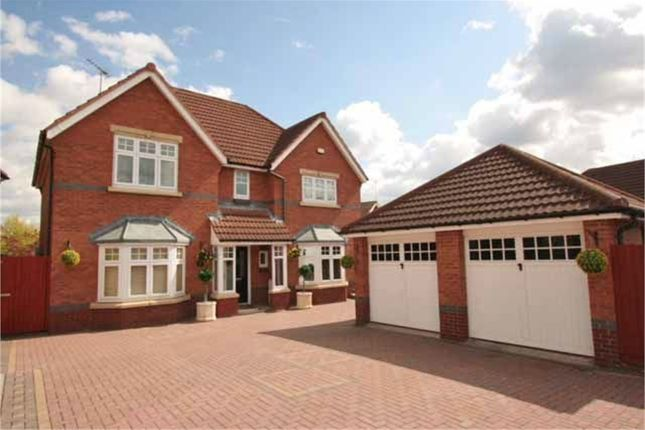 Thumbnail Detached house for sale in Haydock Close, Dosthill, Tamworth, Staffordshire