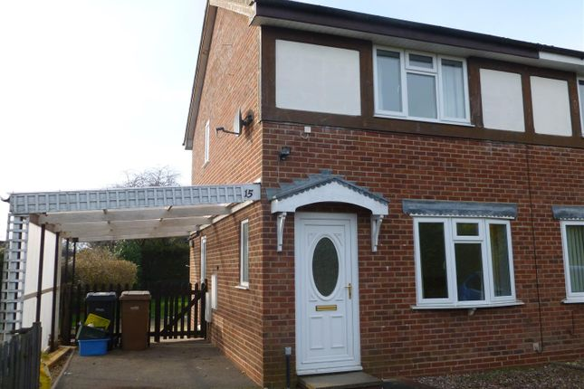 Thumbnail Semi-detached house to rent in Summerfield Close, Oswestry
