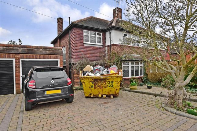 Thumbnail Semi-detached house for sale in Dickens Rise, Chigwell, Essex