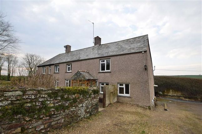 Thumbnail Semi-detached house to rent in Kilkhampton, Bude, Cornwall