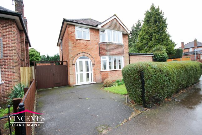 Thumbnail Detached house for sale in Kingsway, Braunstone Town, Leicester
