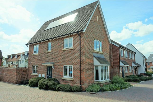 Thumbnail Detached house for sale in Shrubwood Close, Maidstone