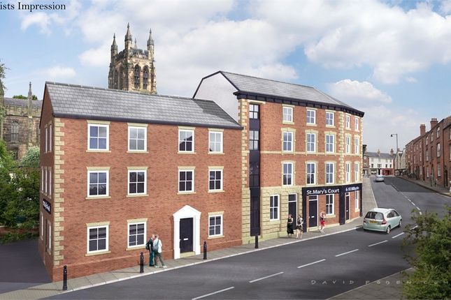 1 bed flat for sale in Apartment 15, 6-10 St Marys Court, Millgate, Stockport, Cheshire