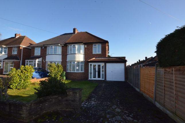Thumbnail Semi-detached house for sale in Oaston Road, Castle Bromwich, Birmingham