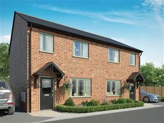 Thumbnail Semi-detached house for sale in Rede Place, Dinnington