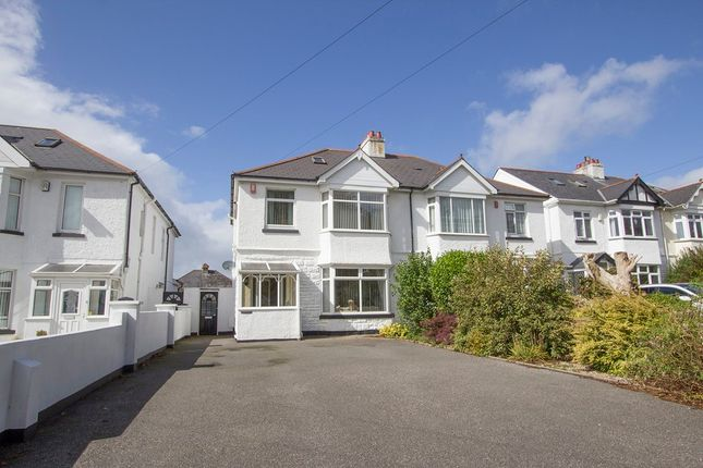 Thumbnail Semi-detached house for sale in Beacon Park Road, Beacon Park, Plymouth