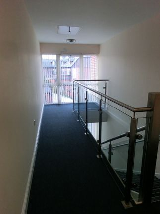 Stairs of 10 Wardley Street, Wigan WN5