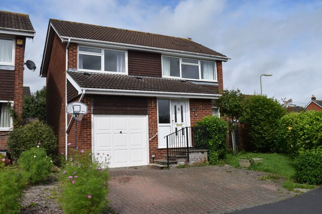 Thumbnail Detached house to rent in Kimberley Close, Fair Oak, Eastleigh