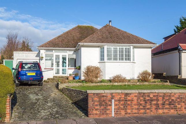 Thumbnail Detached bungalow for sale in Hazelhurst Crescent, Findon Valley, Worthing, West Sussex