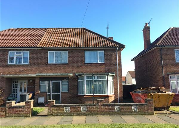 Thumbnail Semi-detached house for sale in Moffat Avenue, Ipswich