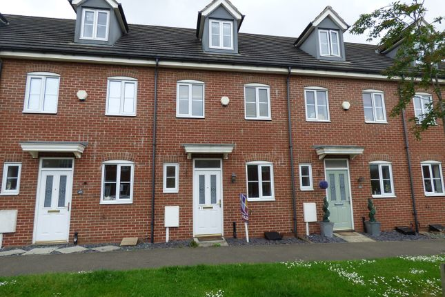 Thumbnail Town house to rent in The Pollards, Bourne