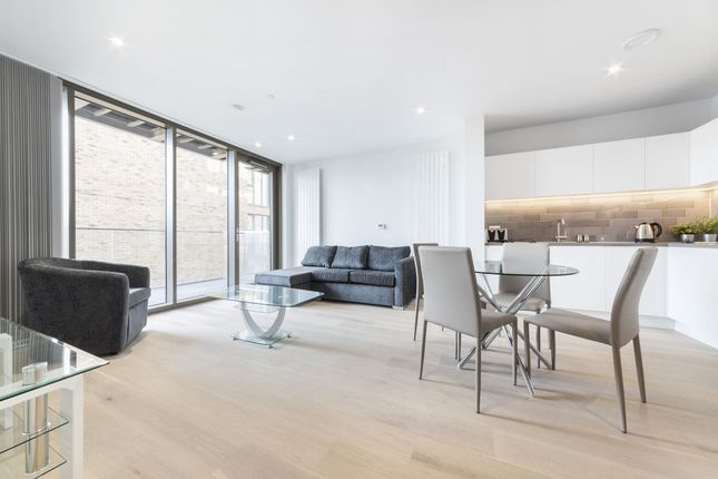 Thumbnail Flat to rent in Commodore House, 3 Schooner Road, Royal Wharf, Silvertown, London