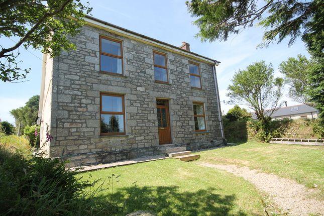 Thumbnail Farmhouse to rent in Calvadnack, Carnmenellis, Redruth