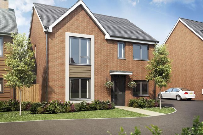 Thumbnail Detached house for sale in The Barlow Bramshall Meadows, Bramshall, Uttoxeter