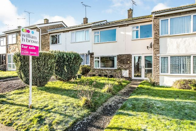Terraced house for sale in Arderne Close, Dovercourt, Harwich