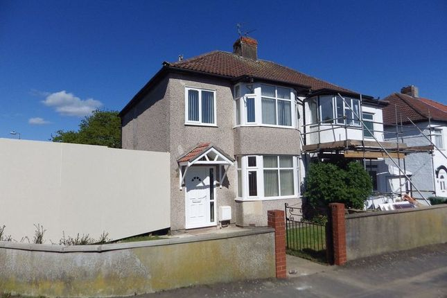 Thumbnail Semi-detached house to rent in Callicroft Road, Patchway, Bristol