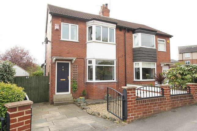 Thumbnail Semi-detached house for sale in Hawthorn Grove, Leeds, West Yorkshire