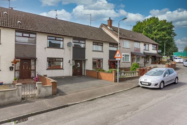 Thumbnail Terraced house for sale in Drumlough Gardens, Lisburn