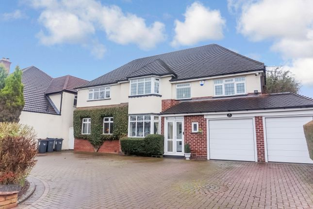 Thumbnail Detached house for sale in Whitehouse Common Road, Sutton Coldfield, West Midlands