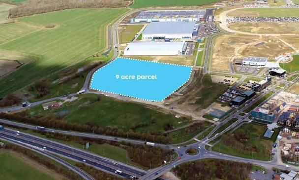 Thumbnail Light industrial for sale in 9 Acre Plot, Alconbury Enterprise Campus, Alconbury Weald, Alconbury, Cambridgeshire